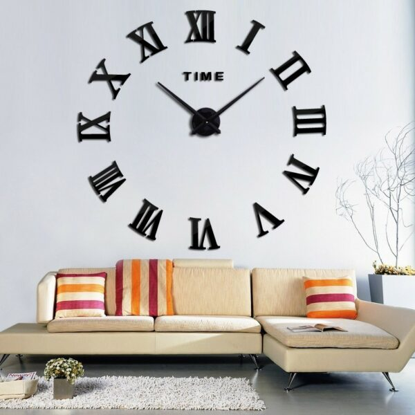 Tunisia Gear - Horloge murale chiffre simple