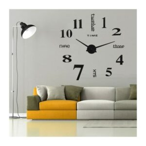 SMARTY - Horloge murale chiffre simple